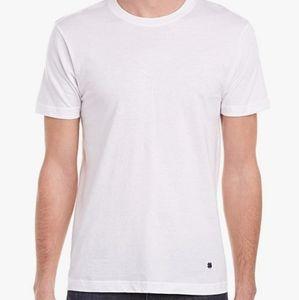 LUCKY BRAND White Classic Short Sleeve T-shirt